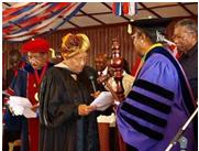 Liberia - Dr. Russell and President