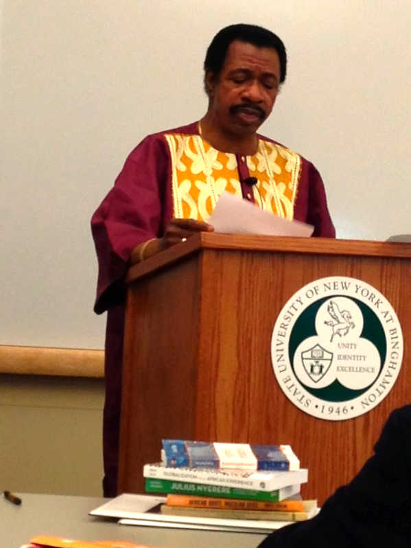 Dr. Asumah NYASA Speech 2013
