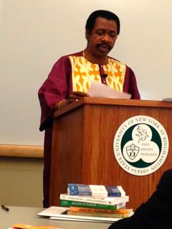 Dr. Asumah NYASA Speech 2013