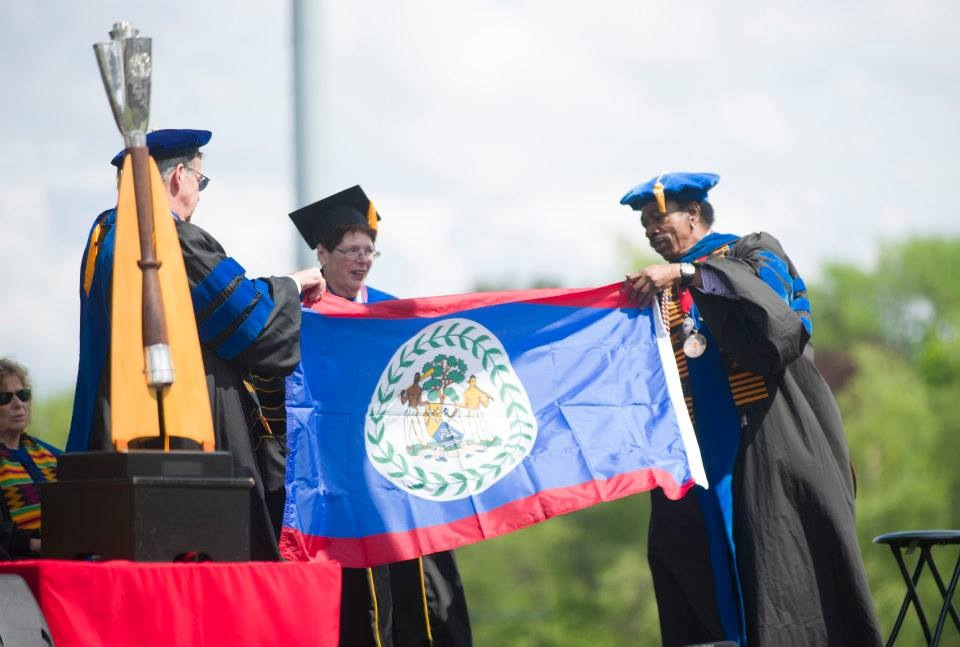 Int. Flag Graduation - SUNY
