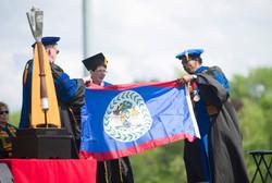 Int. Flag Graduation - SUNY