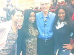 Dr. Feagin &  Cortland Students