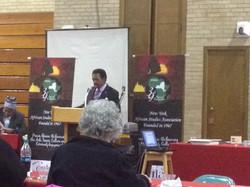Dr. Asumah - NYASA COnference