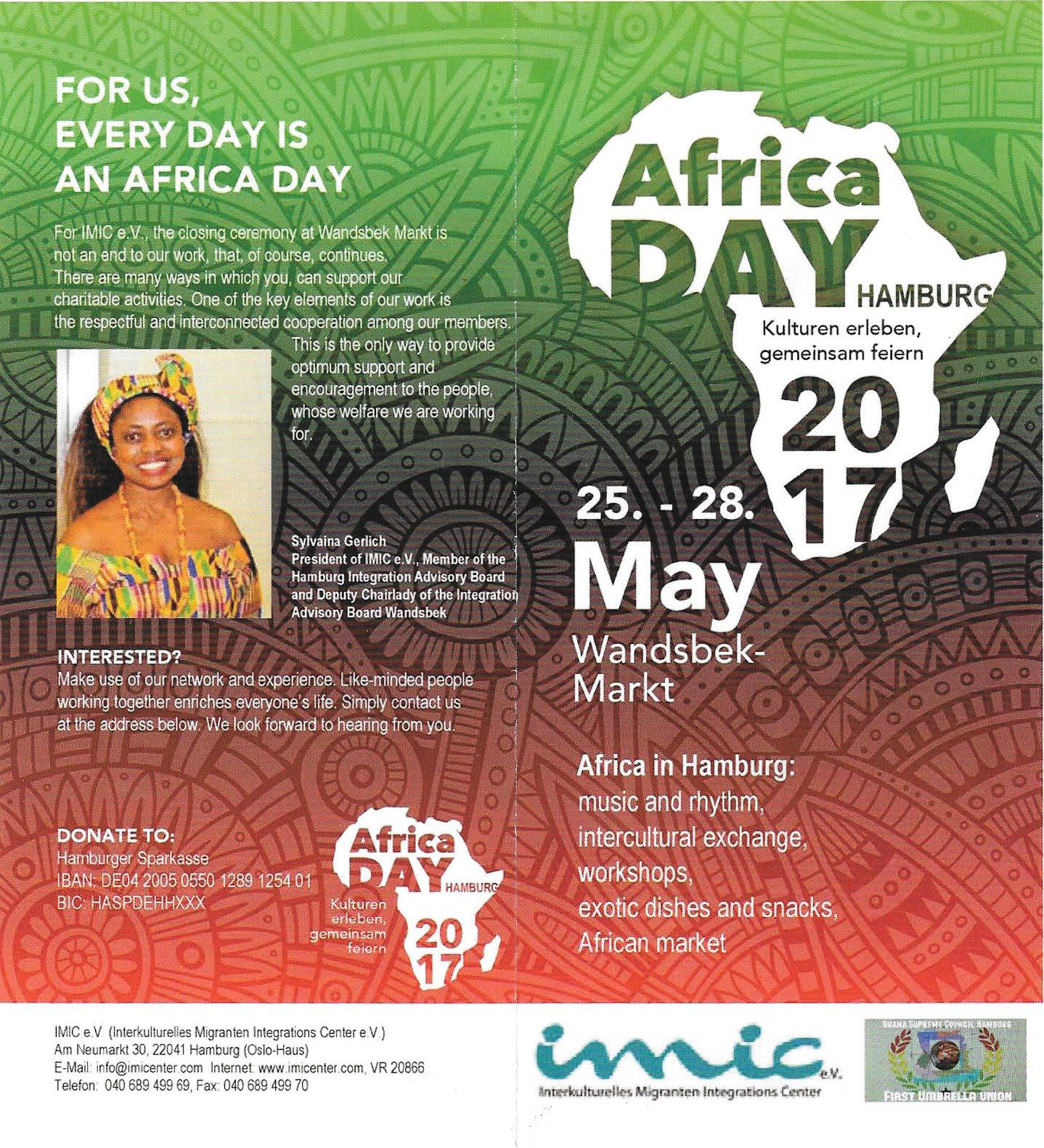 Africa Day - Hamburg, Germany