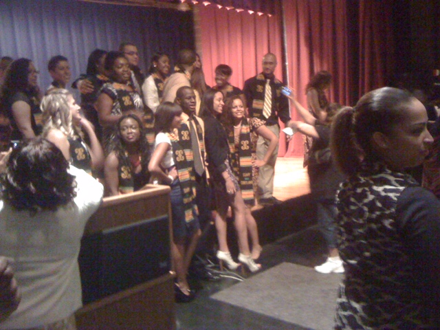 SUNY Cortland Kente Ceremony