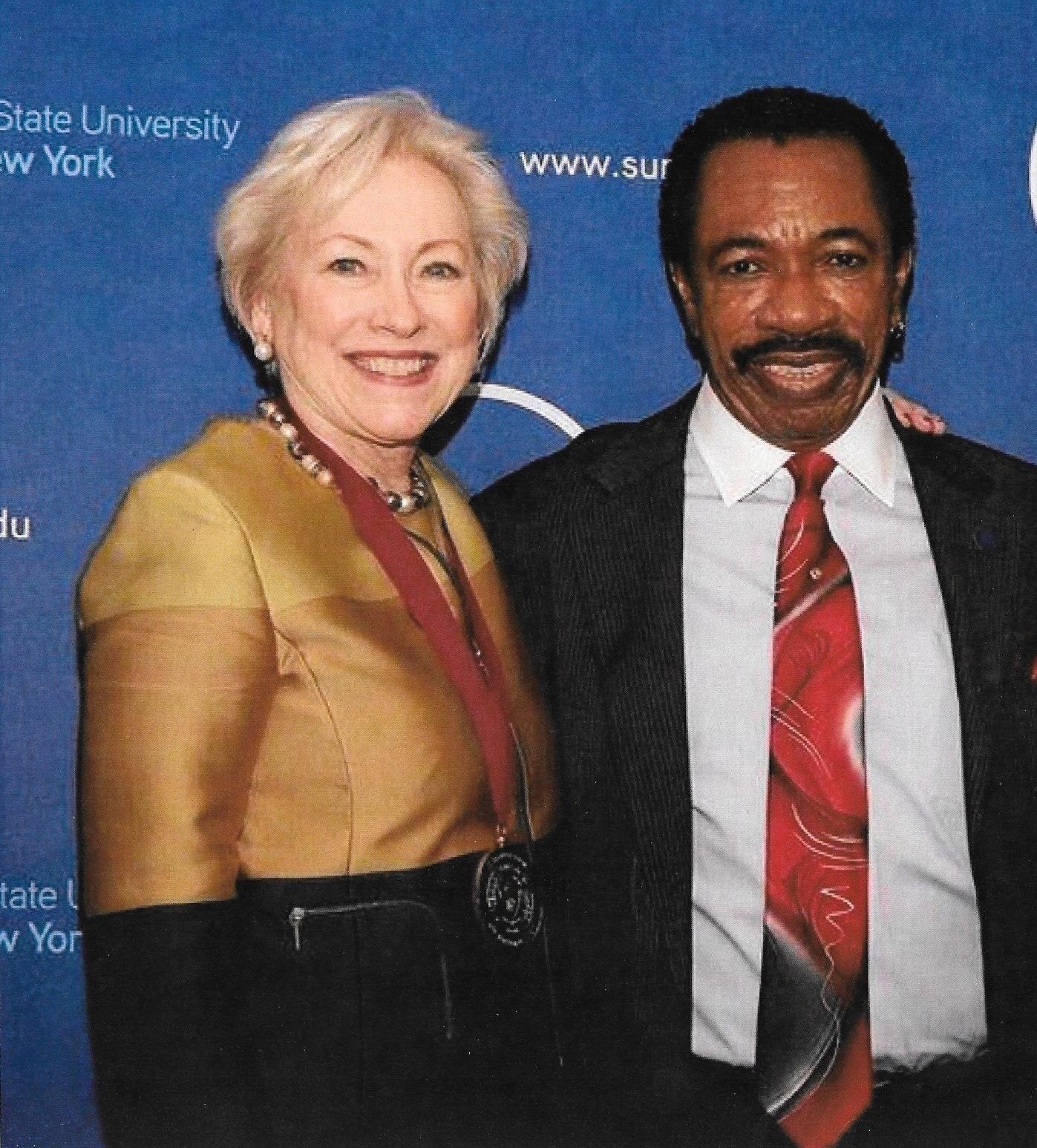 Chancellor Zimpher and Dr. Asumah