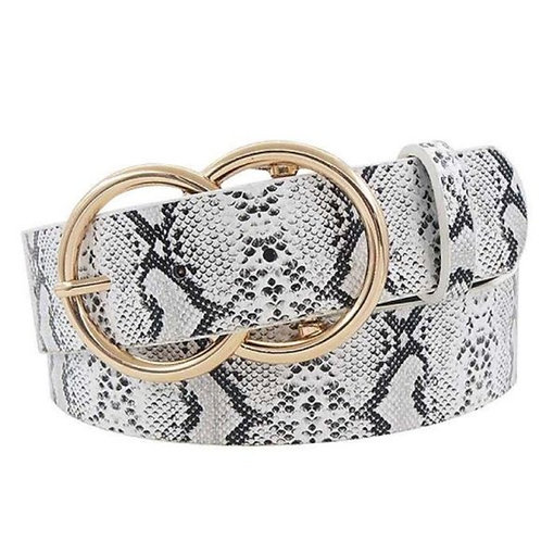 Hot trendy double ring buckle