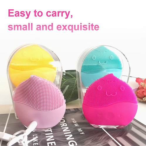 Facial Cleansing Silicone Vibration Mini