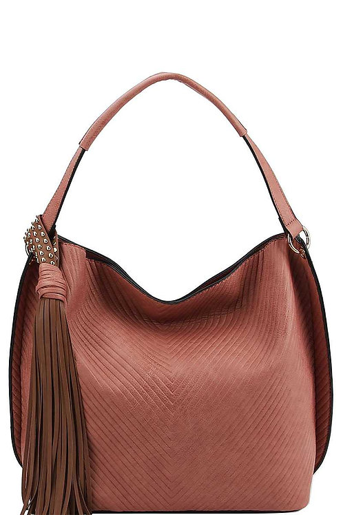 Trendy Chic Tassel Satchel