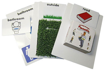 adaptivation tangible object card resources vocabulary list toc
