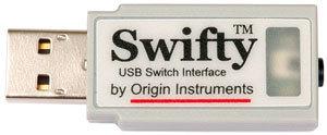 Swifty™ USB switch interface by Origin