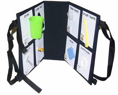 Portable Object Communication Unit by Augmentative