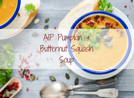 AIP Pumpkin & Butternut Squash Soup