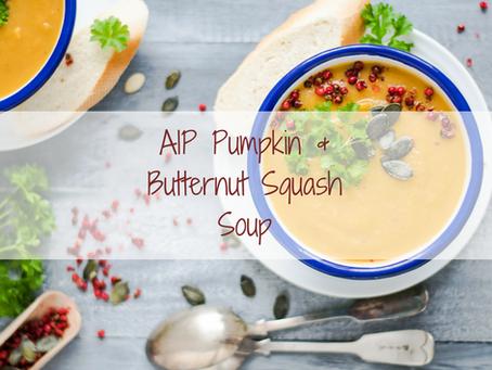 AIP Pumpkin & Butternut Squash Soup