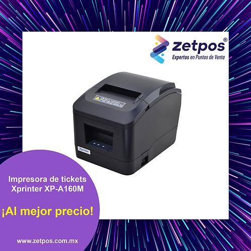 Impresora térmica de tickets 80 mm Xprinter XP-A160M LAN