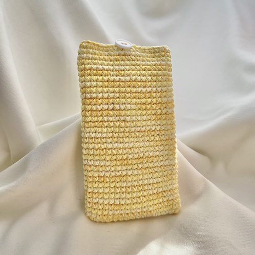 Handphone Pouch (Pale Yellow Variegated)