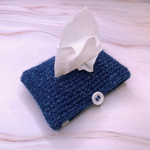 Tissue Packet Holder (Indigo Denim)