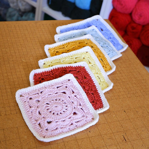 Willow Square Coasters