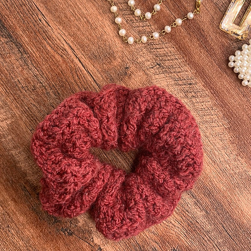Scrunchie (Dusty Red)