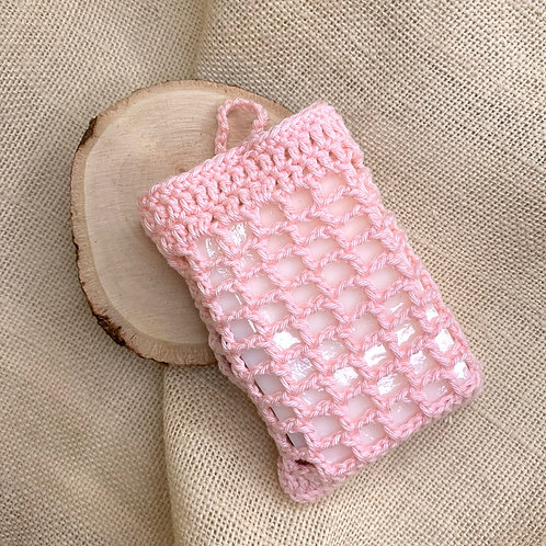 Soap Scrubbies (Ice Pink)