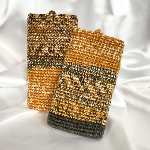 Handphone Pouch (Yellow Variegated)