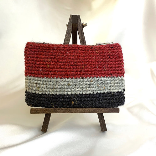 Zip Pouch (Tweed Wool)