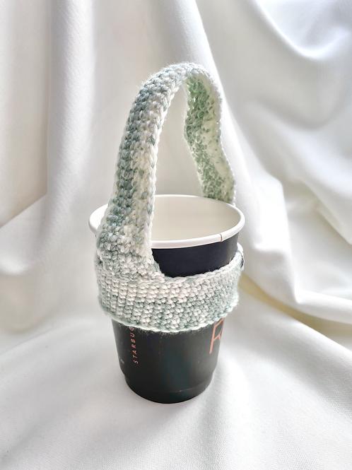 Bubble Tea Holder (Light Green Variegated)