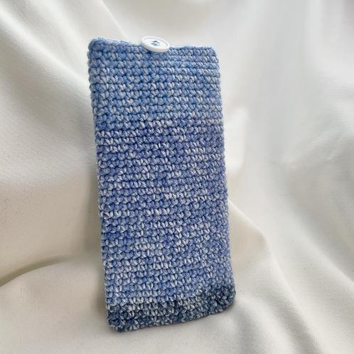 Handphone Pouch (Blue Patch)