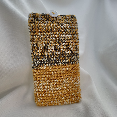 Handphone Pouch (Yellow Variegated 02)