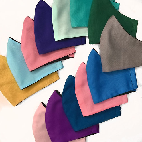 Face Masks (Solid Colours)