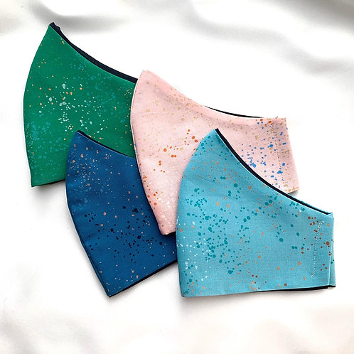 Fitted Masks (Speckled Collection)