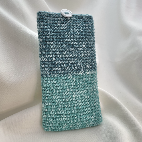 Handphone Pouch (Green Patch)