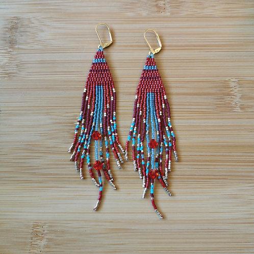 2Boujee4U Fringe Earrings