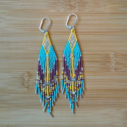 Party Jewels Fringe Earrings
