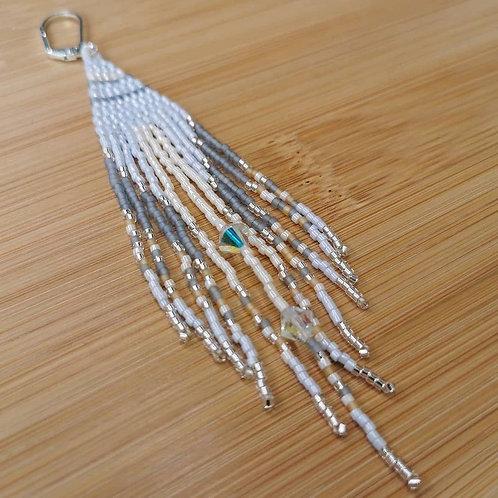 Sky Dancer Fringe Earrings