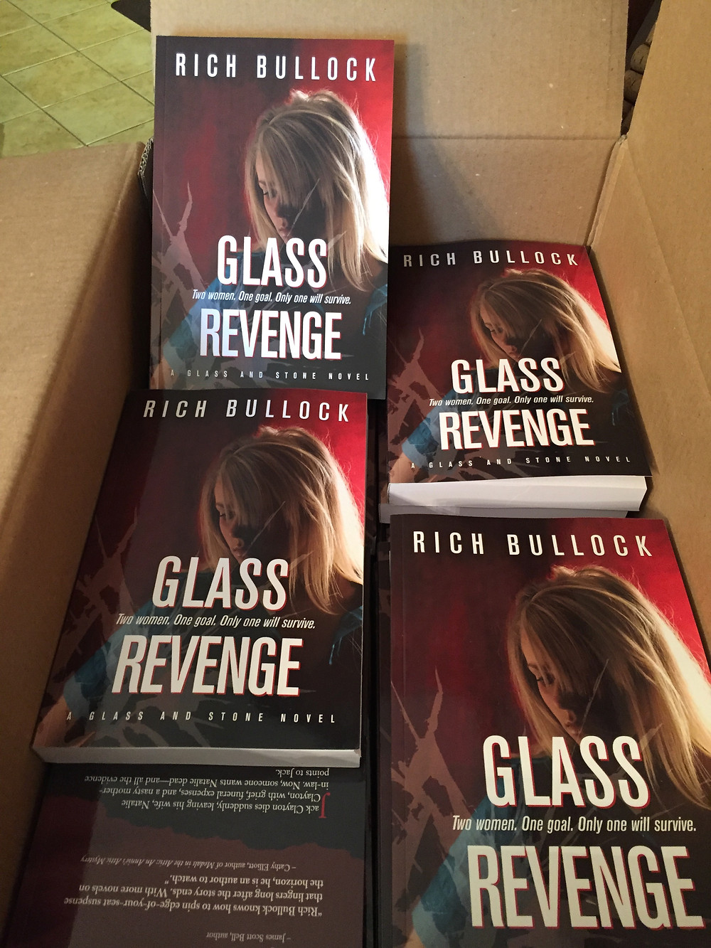 Glass Revenge Print Copies