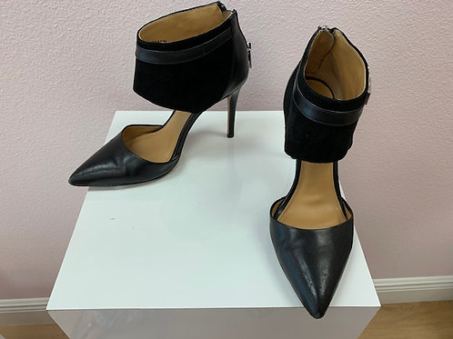 Coach Black Suede Heel
