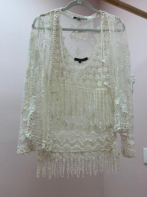 Garcia Crochet Two Piece Top
