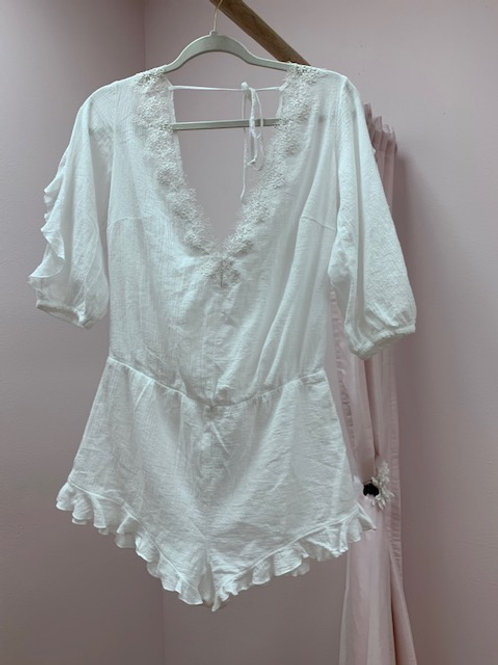 Victorias Secret White Romper
