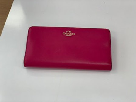 Coach Pink Wallet