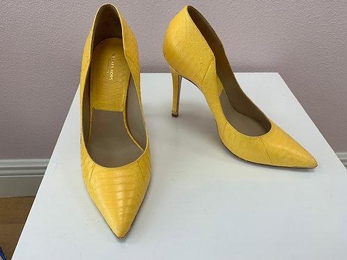Michael Kors Yellow Snakeskin Heel
