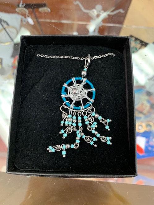 """Dream Catcher"" Handmade Necklace"