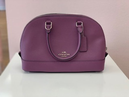 Coach Mini Purple Purse