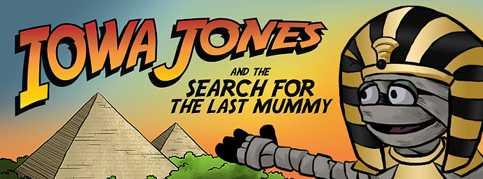 2017 Summer Reading Program - Iowa Jones and the Search for the Last Mummy