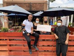 Chef donates to Laguna Food Pantry