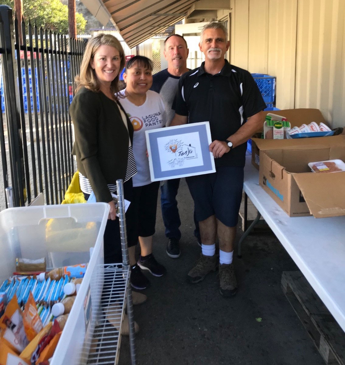 Tony's Treehouse donates to Laguna Food Pantry to meet needs of holidays