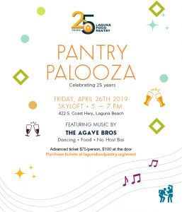 PANTRY PALOOZA RAISES FUNDS FOR LAGUNA FOOD PANTRY
