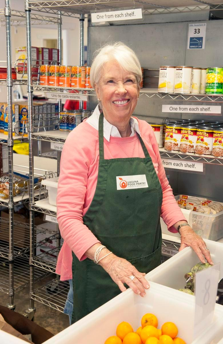 Everyday Heroes: Former librarian now a Laguna Food Pantry volunteer 6 days a week for 7 years