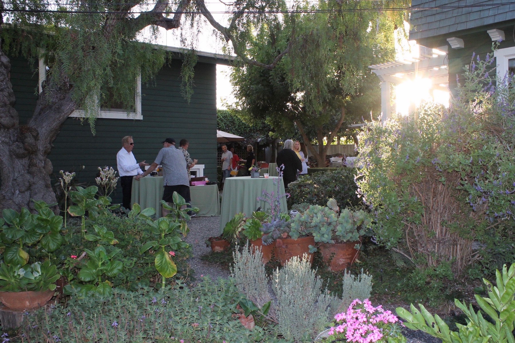 "Laguna Food Pantry invites guests to ""Come to the Table"" in idyllic North Laguna garden"