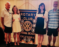 Rotary provides Food Pantry with peanut butter power